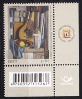 EESTI, 2012, 748, Stilleben Mit Mandoline; Gemälde Von Lepo Mikko. MNH ** - Estonie
