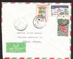 MADAGASCAR Lettre De SAMBAVA Du 12 Juin 1971 Via COLMAR - Madagascar (1960-...)