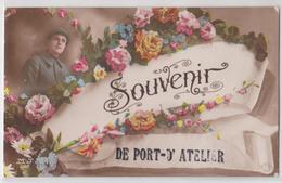 Souvenir De PORT-D'ATELIER (Haute-Saône) - Correspondance Grande Guerre - Other Municipalities