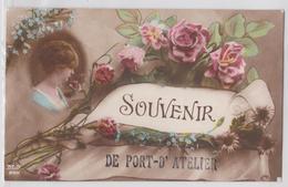 Souvenir De PORT-D'ATELIER (Haute-Saône) - Correspondance Grande Guerre - Autres Communes