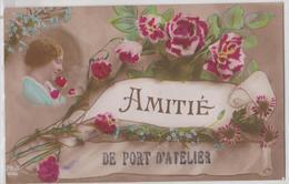 Amitié De PORT-D'ATELIER (Haute-Saône) - Correspondance Grande Guerre Envoi Pour Villa Bresson Fougerolles - Other Municipalities