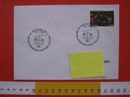 A.06 ITALIA ANNULLO - 1994 MOENA TRENTO MEETING CROCE ROSSA SULLA NEVE SPORT INVERNO IMPIANTI RISALITA SEGGIOVIA - Inverno