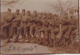 SERBIA,  KINGDOM OF YUGOSLAVIA  -- ARMY IN BOSNIEN, SARAJEVO<  PASINO BRDO ~  S. R. O.  KADETTEN ~ 1930 ~  8 Cm X 5,5 Cm - Militaria