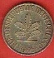 GERMANY  #  10 PFENNIG FROM 1995 - 10 Pfennig