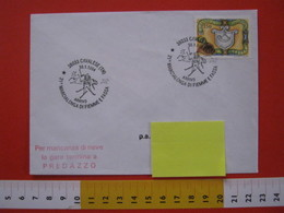 A.06 ITALIA ANNULLO - 1994 CAVALESE TRENTO MARCIALONGA DI FIEMME E FASSA SCI FONDO ARRIVO CACHET TIMBRO PREDAZZO - Inverno