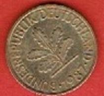 GERMANY  #  10 PFENNIG FROM 1987 - 10 Pfennig