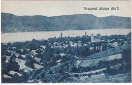 Visegrád  - Látképe Délröl - Hongarije