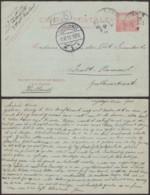 TUNISIE  EP DE TUNIS 02/12/1910 VERS PAYS-BAS (6G20271) DC-1680 - Tunisie (1888-1955)