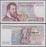 Billet De 100 Francs 13/10/69- Lambert Lombard - Neuf ( FDC) (DD) DC1718 - [ 2] 1831-... : Royaume De Belgique