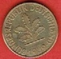 GERMANY  #  10 PFENNIG FROM 1989 - 10 Pfennig