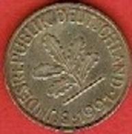 GERMANY  #  10 PFENNIG FROM 1991 - 10 Pfennig