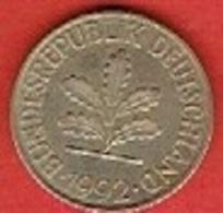 GERMANY  #  10 PFENNIG FROM 1992 - 10 Pfennig