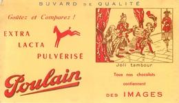 Buvard Ancien CHOCOLAT POULAIN - Cocoa & Chocolat