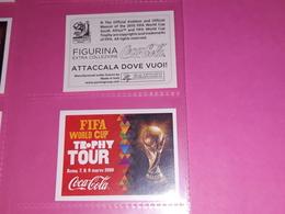 Fifa World Cup Africa 2010 Figurina Fuori Catalogo COCA COLA Panini - Edizione Italiana