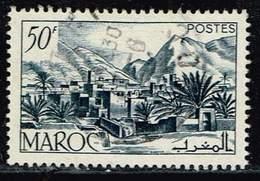 Marokko 1950, Michel# 317 O Todra Valley - Marokko (1956-...)
