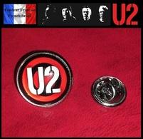 Pins Pin's Badge NEUF Métal Et Verre ( Brooch ) - U2 ( Ref 1 ) - Musique