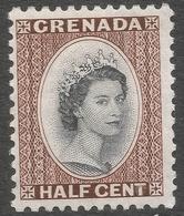 Grenada. 1953-59 QEII. ½c MH. SG 192 - Grenada (...-1974)