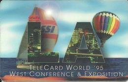USA: Intellcall - TeleCard World '95 Exposition Los Angeles - Vereinigte Staaten