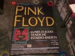 Pink Floyd San Sebastián 1994  Affiche Originale Du Concert  100x140  Cm Neuf - Affiches & Posters