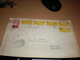 Barcelona R Certificato   To Novi Sad Yugoslavia 1959 - 1951-60 Briefe U. Dokumente