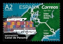 Spain 2019 Mih. 5315 Panama Canal. Ships MNH ** - 1931-Aujourd'hui: II. République - ....Juan Carlos I