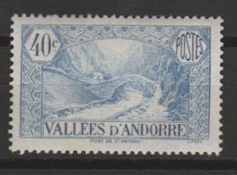 ANDORRA CORREO FRANCES SELLO NUEVO  *** SIN CHARNELA (C.CLASICOS. - French Andorra