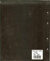 Yvert Et Tellier -  INTERCALAIRES NOIRS Pour RELIURE CARAVELLE/GALION (REF. 2600) - Materiale