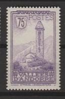 ANDORRA CORREO FRANCES SELLO NUEVO  *** SIN CHARNELA (C.CLASICOS. - Andorra Francese