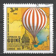 Guinea-Bissau 1983. Scott #444 (U) Manned Flight (Hot Air Balloon) Bicentenary * - Guinée-Bissau