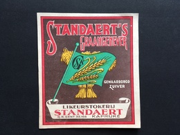 KAPRIJKE - Etiket - Jenever - Stokerij - Distillerie - Likeur - Standaert - Kaprijke
