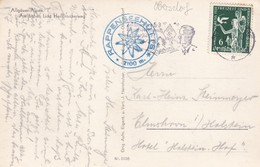 Karte Aus Obersdorf Nach Elmshorn 1936 - Germany