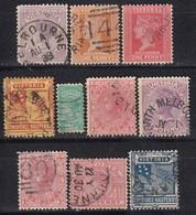 VICTORIA - MiNr: Partie 10x  Used - 1850-1912 Victoria
