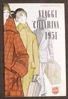 Pubblicità Turismo - Brochure Viaggi Chairiva - Edizione Primavera 1951 - Pubblicitari