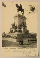 ROMA - MONUMENTO A GARIBALDI SUL MONTE GIANICOLO VIAGGIATA FP - Autres