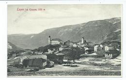 Postcard Italy Layen Bei Klausen Tirol From Booklet Unused - Italia