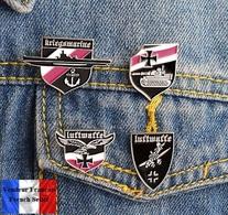 Lot De 4 Pins Badges NEUFS En Métal ( Brooch ) - WW2 Armée Allemande German Army - Militaria