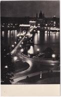 Budapest - A Kivilágitott Lánchid - Chain-bridge By Night - Hongarije