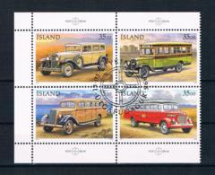 Island 1996 Postautos Mi.Nr. 846/49 Kpl. Satz Gest. - 1944-... Republic