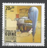 Guinea-Bissau 1983. Scott #447 (U) Manned Flight (Hot Air Balloon) * - Guinée-Bissau