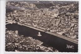 38 VIENNE Vue Aérienne ,les Ponts Sur Le Rhône N° 1237,vue Générale Sur La Ville  Circulée En 1950 ,Edition Greff - Vienne