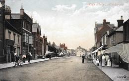 Lovely Colour-tinted Edwardian Photo Postcard Of High Street, Aldeburgh, Suffolk, England 1911, Street Scene - Inghilterra