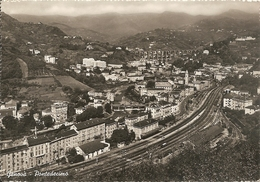 GENOVA - PONTEDECIMO - FERROVIA - FORMATO GRANDE - VIAGGIATA 1953 - (rif. E11) - Genova