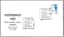 Exposicion De Pintura MEDITERRANEO De MIRO. Salerno 2002 - Arte