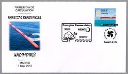 ENERGIAS RENOVABLES - UNDIMOTRIZ. RENEWABLE ENERGIES - WAVE POWER. SPD/FDC Madrid 2010 - Protección Del Medio Ambiente Y Del Clima