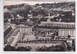 38 VIENNE Vue Aérienne , Le Quartier De La Gare , Les Nouveaux Immeubles Du Cours Brillier ,circullée En 1956 - Vienne