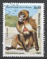 Guinea-Bissau 1983. Scott #459 (U) African Apes And Monkey, Theropithecus Gelada, Singe * - Guinée-Bissau