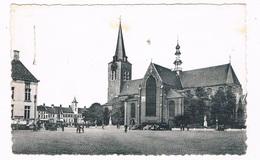 B-7006  TURNHOUT : Markt Met Stadhuis En St. PietersKerk - Turnhout