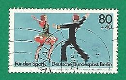 * 1983 N° 659 SPORTIFS CHAMPIONNATS EUROPE DE DANCE LATINO AMÉRICAINE OBLITÉRÉ TB - [5] Berlin