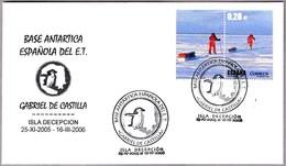 """BASE ANTARTICA ESPAÑOLA """"GABRIEL DE CASTILLA"""". Isla Decepcion 2005-06 - Estaciones Científicas"""