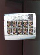 Belgie 2003 Nr 3168 Maigret Simenon Velletje Plaatnummer 3 Numero De Planche Onder Faciaal Sous Faciale Velnr 95611 - Feuillets